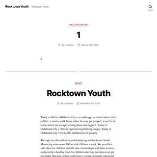 Rocktown Youth - Rocktown Youth