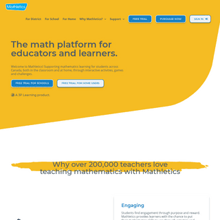 Mathletics Canada - Empowering math Learning Online