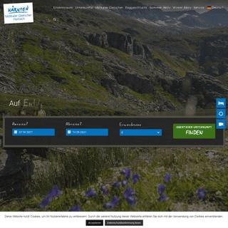 Urlaub in Flattach, Gletscherskigebiet Mölltaler Gletscher