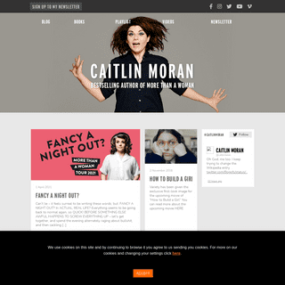 Caitlin Moran - Bestselling Author of More Than A WomanCaitlin Moran