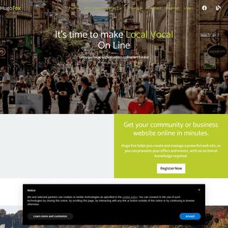HugoFox – Hugo Fox connecting communities with great websites