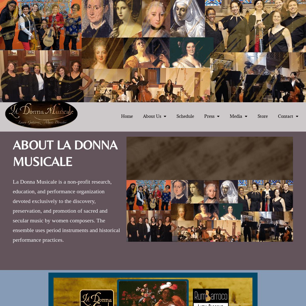 La Donna Musicale – Early Music Ensemble