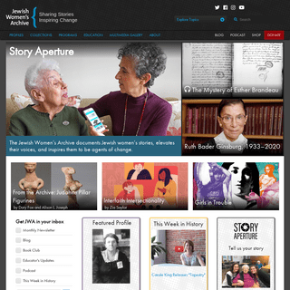 Jewish Women`s Archive