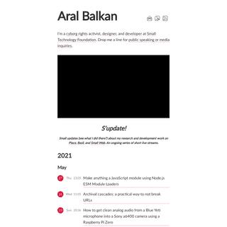 Aral Balkan