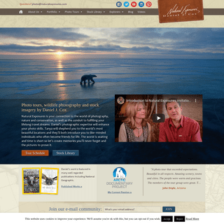 Home page - Natural Exposures, Inc.