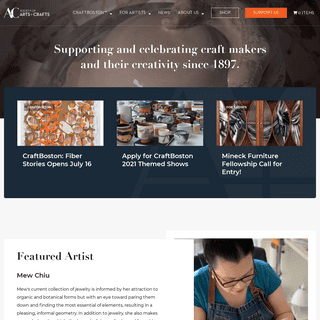 Homepage - The Society of Arts and Crafts