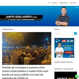 Blog do Jamys Gualhardo