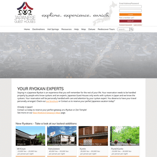 - Curated Ryokan Selection and Personalized Reservation Service.