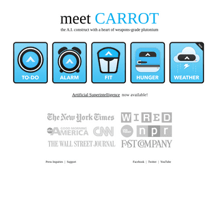 CARROT - iOS and Mac Apps with a Personality