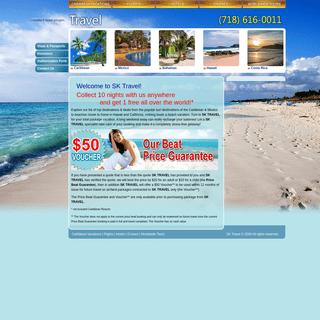 Caribbean Vacations - SK Travel