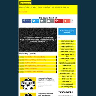 Taraftarium24 , Taraftarium 24 TV, Bedava Lig tv izle