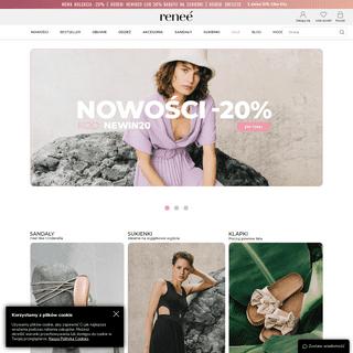 Modne buty i odzież online w dobrej cenie - wiosna 2021 na Renee.pl