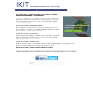 Institute for Knowledge Innovation and Technology