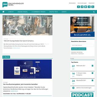Onlinehändler-News - Internet-Recht, Online-Marketing u.v.m.