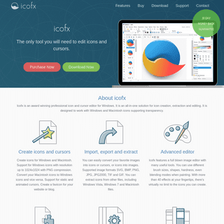 icofx - The Professional Icon Editor