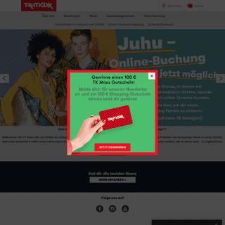 Homepage - TK Maxx