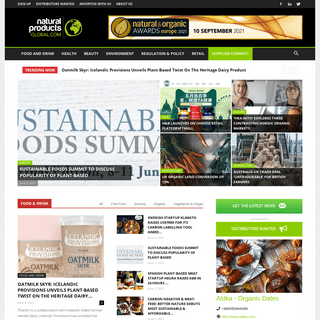 Natural Products Global - The global news resource for the natural & organic industry - Natural Products Global