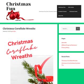Christmas Fun - Christmas Fun- Eats. Presents. Sweets.