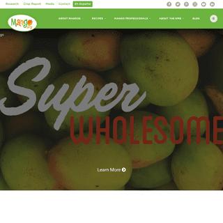 Mango Fruit Recipes, How-to's, Tips & More - National Mango Board