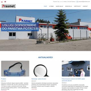Prasmet - elektrodrążenie, obróbka plastyczna, toczenie, narzędziownia