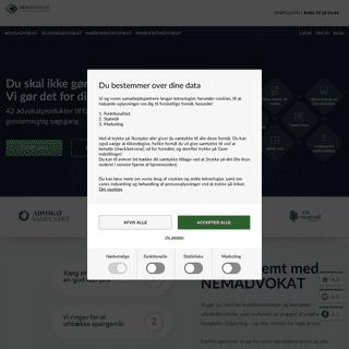 NEMADVOKAT - En del af Danmarks Digitale Advokater