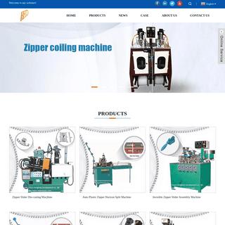 Zipper Machine, Velcro Machine, Zippers - HuiyuHengtong