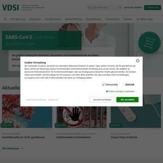 Start - VDSI - Verband für Sicherheit, Gesundheit und Umweltschutz bei der Arbeit e.V.