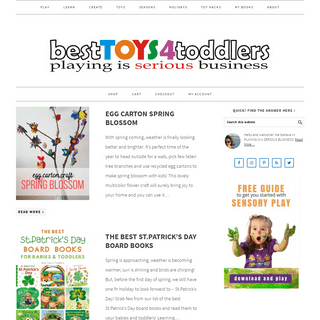 Homepage - Best Toys 4 Toddlers