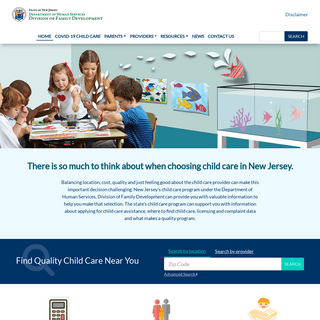 Child Care In New Jersey - Home