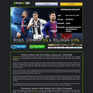 Agen Slot Online - Daftar Judi Slot - Situs Casino Online