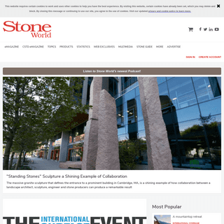 Stone World - Stone Industry News on Production, Use & Trends