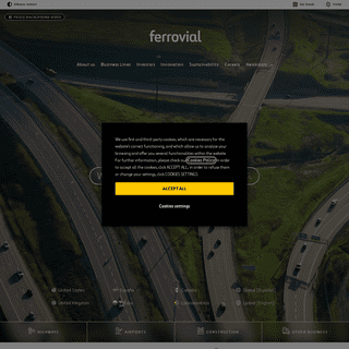 Ferrovial- Sustainable Infrastructure