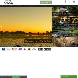 Nomad Africa Adventure Tours - African Adventure Tours