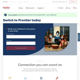 Internet, Phone & TV Service Provider - Frontier.com