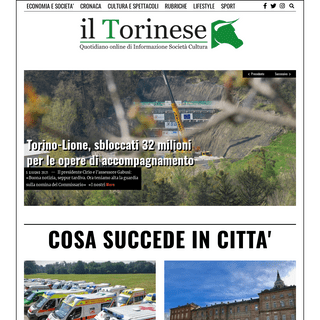 Il Torinese - Quotidiano online di Informazione, Societá, Cultura