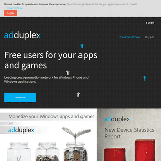 Get more users for your apps and games with AdDuplex