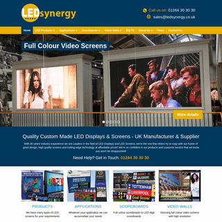LED Displays & LED Signs custom made - LEDsynergy