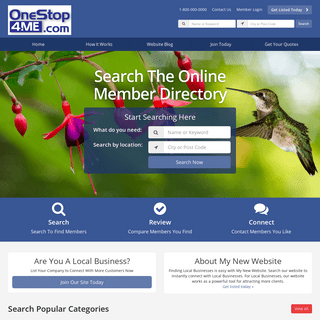 Local Business Directory - Find Local Businesses - ONESTOP