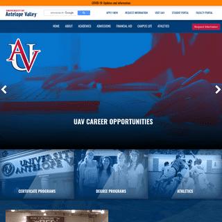 University of Antelope Valley
