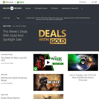 Homepage - Xbox`s Major Nelson