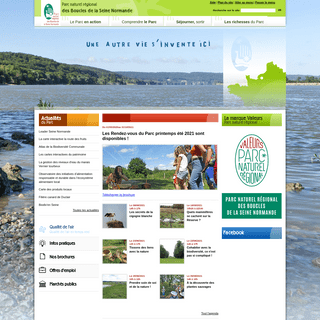 Parc naturel régional des Boucles de la Seine Normande - pnr-seine-normande.com