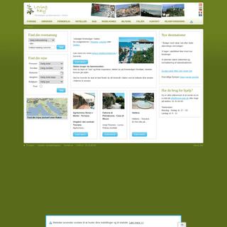 Ferieboliger og hotelværelser i Italien