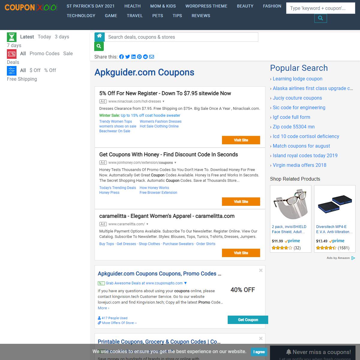 Apkguider.com Coupons - 03-2021