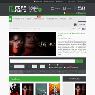 Online Filmy Zadarmo – FreeFilm.to