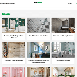 Sustainability Institute - Home Decor Ideas