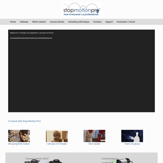 Stop Motion Pro – …now everyone is a professional