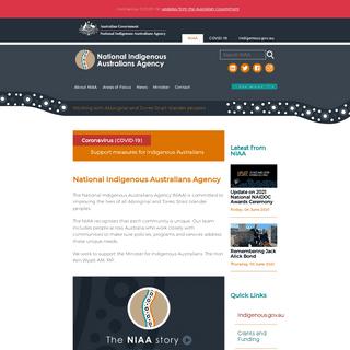 National Indigenous Australians Agency -