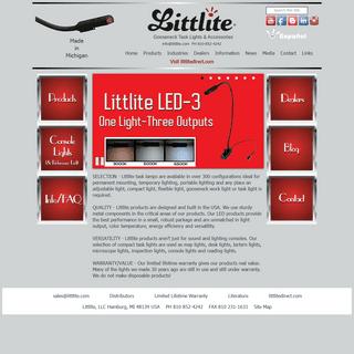 Littlite Task Lights Flexible Gooseneck LED 12V Adjustable Work