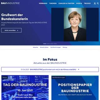 Start–Die Deutsche Bauindustrie