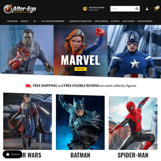 Shop for one sixth scale collectible figures - Alter Ego Comics